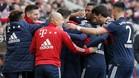 El Bayern venció sin hacer nada del otro mundo.
