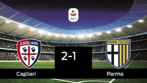 El Cagliari se queda los tres puntos frente al Parma