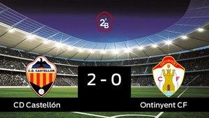 El Castellón se lleva la victoria en su casa frente al Ontinyent