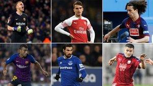 Cillessen, Denis Suárez, Cucurella, Rafinha, André Gomes y Palencia. El FC Barcelona espera obtener ingresos en los traspasos de estos jugadores en las próximas dos semanas