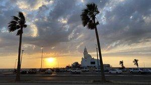 La corniche de Jeddah se ha convertido en el epicentro del Dakar