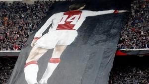 Cruyff, protagonista en el Ajax
