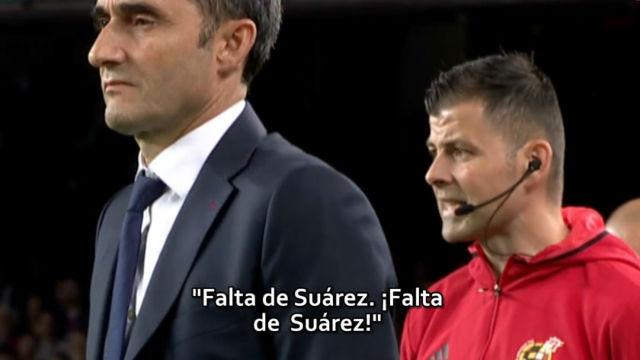El cuarto árbitro tuvo un criterio diferente al de Hernández Hernández según las cámaras del golazo de gol