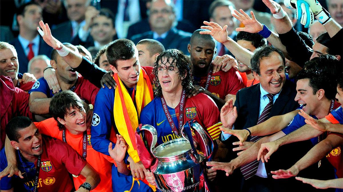 ¡Se cumplen 11 años del primer triplete del FC Barcelona! Recuerda los goles del Barça ante el United en la Champions. Emociona solo con verlo...