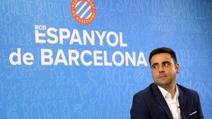 David Gallego espera que la confección de la plantilla del Espanyol se agilice en los próximos días.