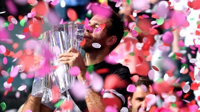 ¡Del Potro vence a Federer en la final de Indian Wells!