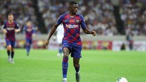 Dembélé ya expresó este verano su deseo de quedarse en Barcelona