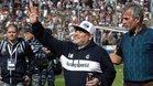 Diego Maradona comienza el cambio en Gimnasia