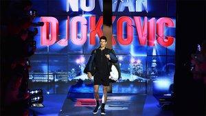 Djokovic, durante las Finales ATP