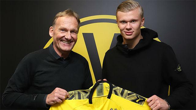 El Dortmund ficha a Haaland y agita el mercado