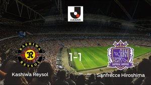 Empate entre el Kashiwa Reysol y el Sanfrecce Hiroshima (1-1)