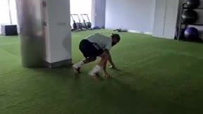 El entrenamiento de Sergio Ramos a lo Spiderman