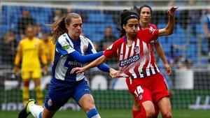Un Espanyol-Atlético de Madrid de la Liga Iberdrola
