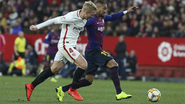Esto es lo poco que dio de sí el debut de Boateng con el Barça