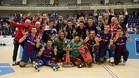 La euforia se desató con la consecución del título de campeón de Europa