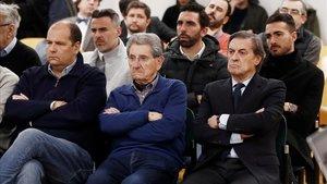 Exdirectivos de Osasuna son juzgados en Pamplona