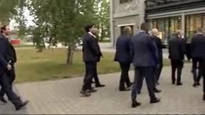 Florentino Pérez y Rubiales se reencuentran en Tallin