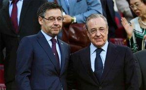 Florentino Pérez utilizó al Barça para despreciar al Atlético de Madrid