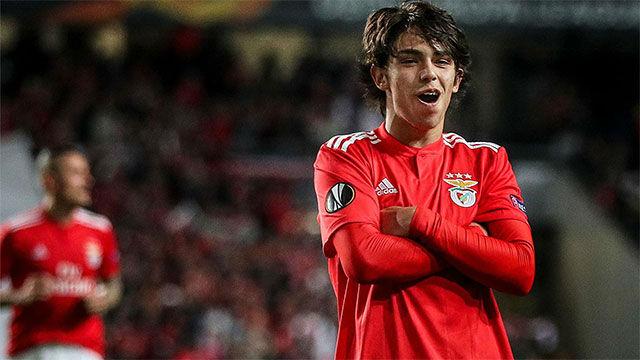 El hat-trick de Joao Félix ante el Eintracht con el que se corona en Europa