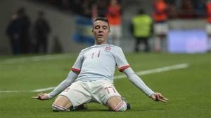Iago Aspas, goleador del Celta, gusta a Florentino Pérez