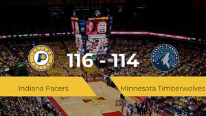Indiana Pacers vence a Minnesota Timberwolves (116-114)