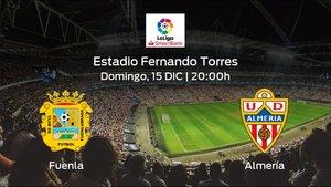 Jornada 20 de la Segunda División: previa del encuentro CF Fuenlabrada - Almería