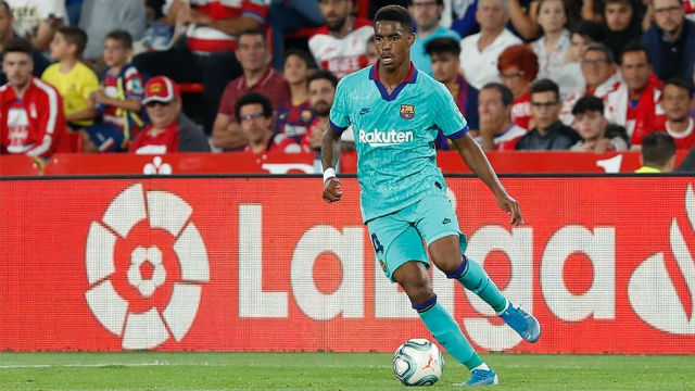 Júnior Firpo cometió un tremendo error en el primer gol del Granada