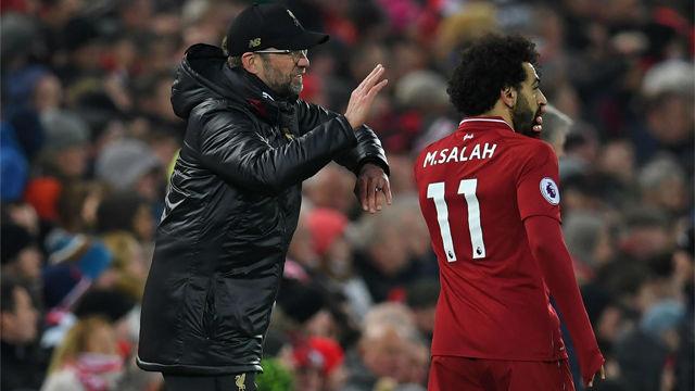 Klopp: Si Salah no tiene más goles es por mi culpa