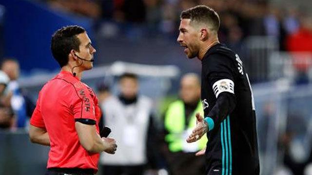 LALIGA | Leganés - Real Madrid (1-3): Ramos vio amarilla por protestarle al linier
