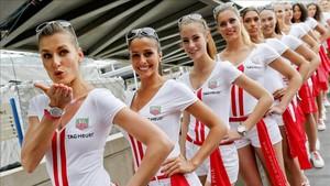 Las chicas de parrilla vuelven a Mónaco