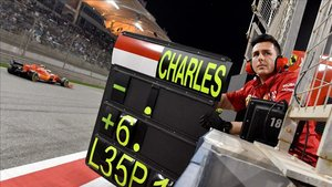 Leclerc hizo una carrera impresionante en Bahrein