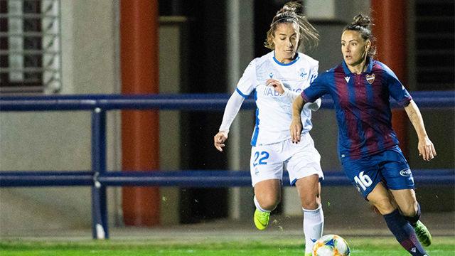 El Levante le gana por la mínima al Deportivo Abanca