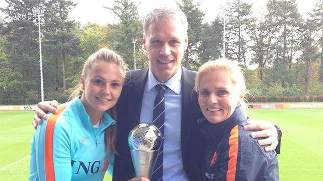 Lieke Martens, la mejor jugadora del mundo