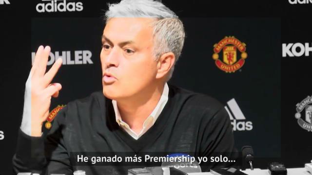 Los mejores momentos de Mourinho