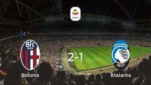 Los tres puntos se quedan en casa tras el triunfo del Bolonia ante el Atalanta (2-1)