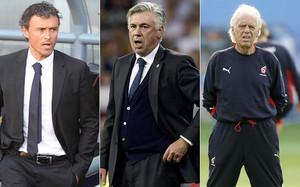 Luis Enrique tiene ahora por delante el récord de Ancelotti y Beenhakker