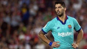 Luis Suárez, muy crítico con la actuación del equipo