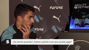 Luis Suárez: Me siento feliz y valorado en el Barça