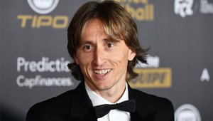 Luka Modric, en la gala del Balón de Oro 2018