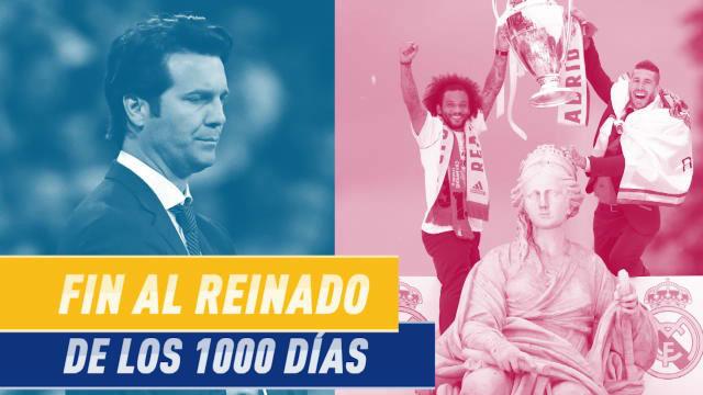El Madrid dice adiós a su reinado de los 1000 días