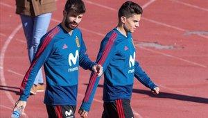 Marc Bartra se siente muy feliz de volver a la selección de España