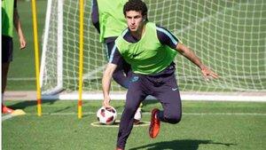Mateu Morey ya está a disposición de García Pimienta en el Barça B
