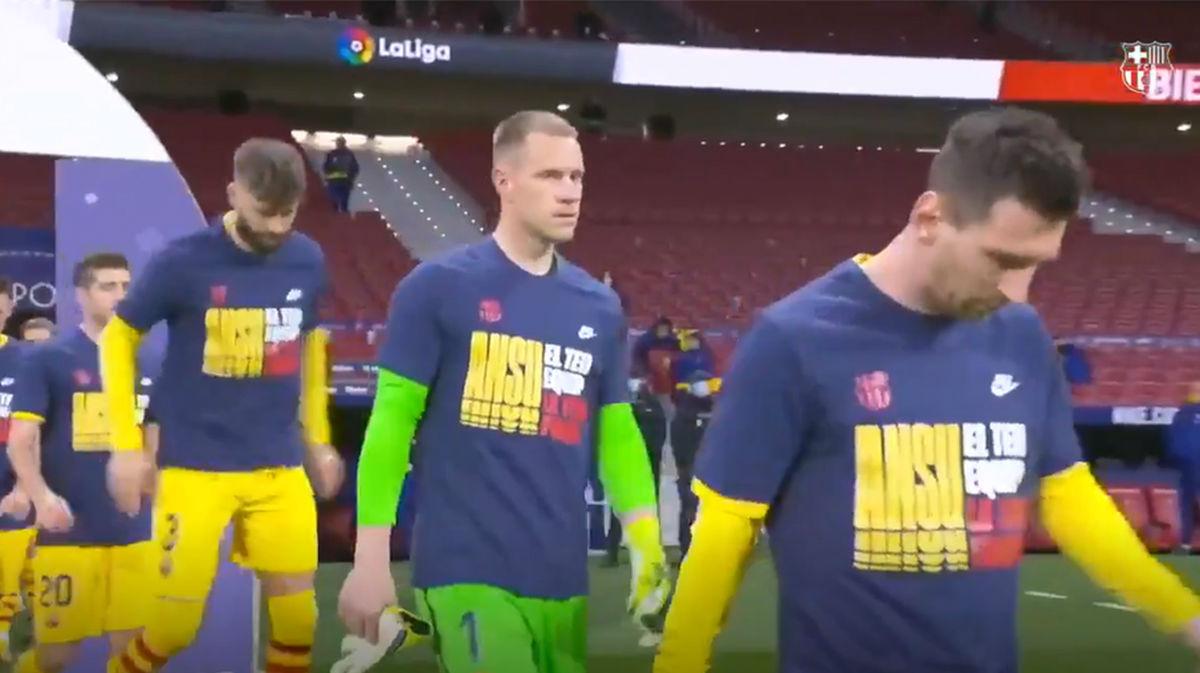 El mensaje del Barça para apoyar a Fati: Ansu, tu equipo es tu fuerza