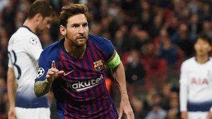 Messi consiguió un doblete