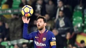 Messi escribió un mensaje en las redes sociales