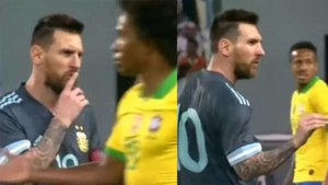 Messi mandó a callar a Tite