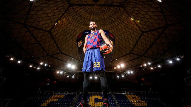 Mirotic: Estar en el Barça es un privilegio