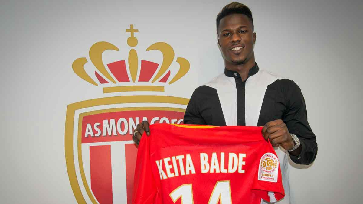 El Mónaco ficha a Keita Baldé