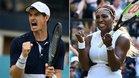 Murray y Serena, una pareja de lujo