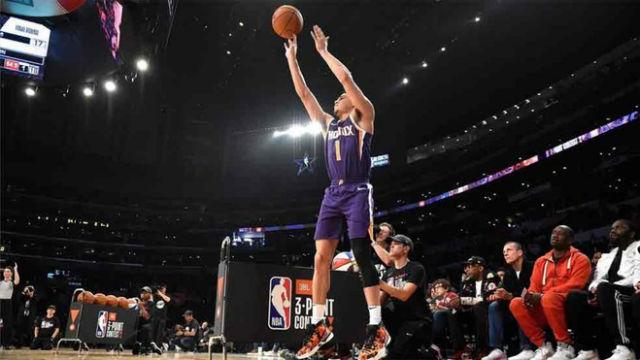 NBA VÍDEO | Devin Booker y sus históricos 28 puntos en el concurso de triples
